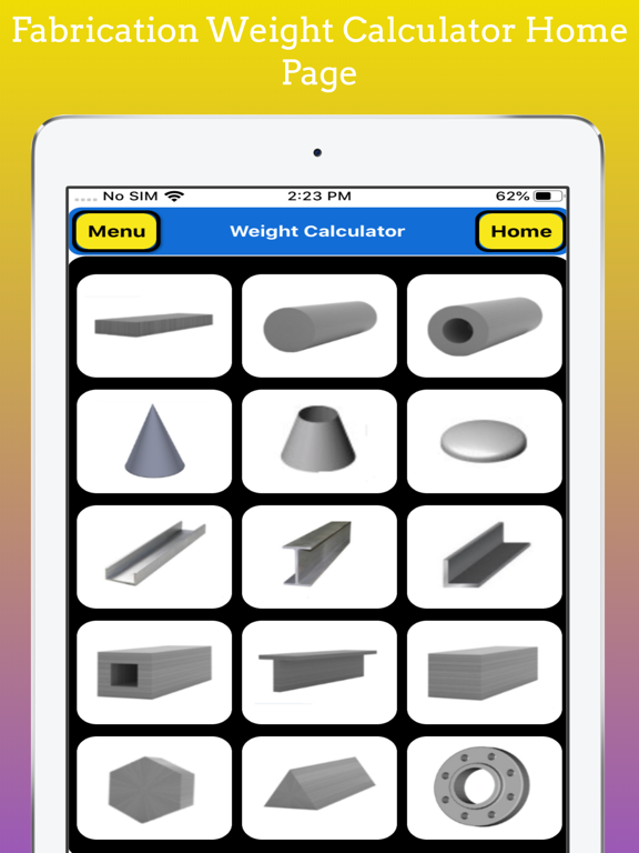 Fabrication Weight Calculator screenshot 11