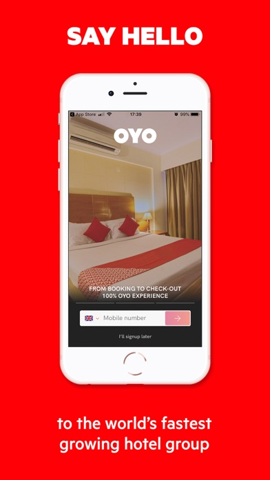 Unduh OYO: Search & Book Hotel Rooms pada Pc