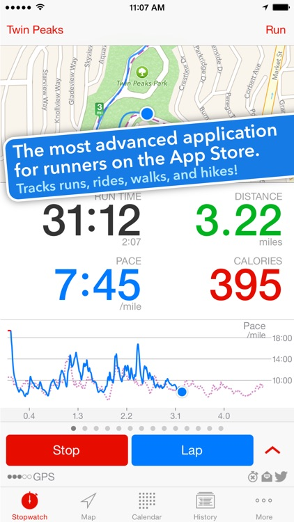 Runmeter Running & Cycling GPS screenshot-0
