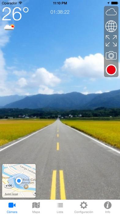 Driving RecCaptura de pantalla de1