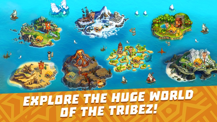 The Tribez: Build a Village screenshot-0