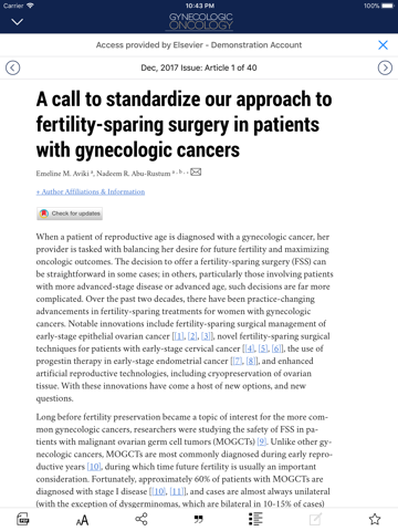Gynecologic Oncology - náhled