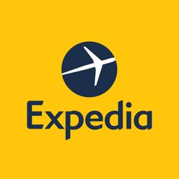 Ícone do app Expedia: hotéis, voos e carros