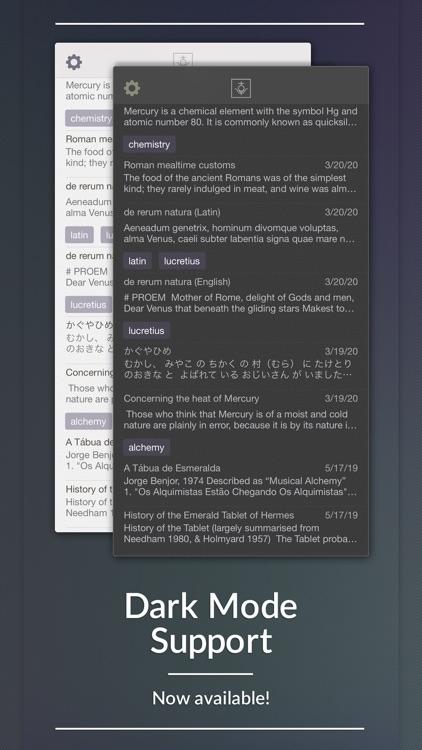 Mercury Notes screenshot-4