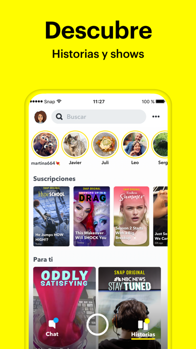 Screenshot for Snapchat in Dominican Republic App Store
