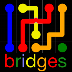 ‎Flow Free: Bridges