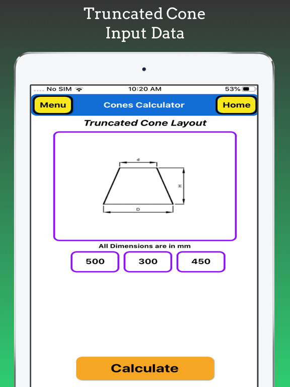 Cones Calculator screenshot 14