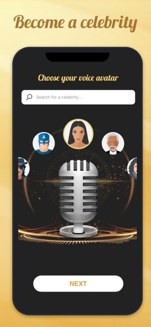 Voicy: Celebrity Voice Changer on the App Store