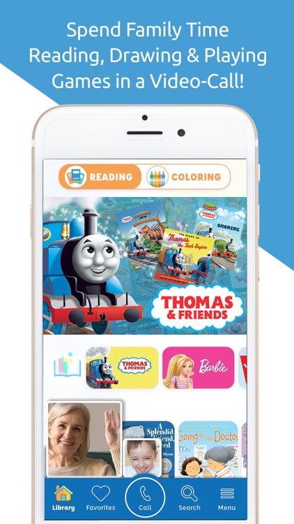 Caribu: Kids' Books & Coloring screenshot-0