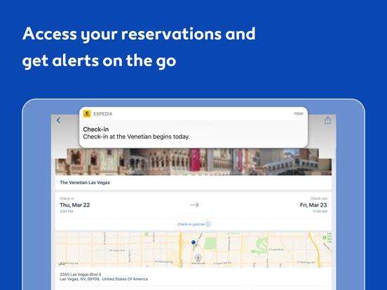 Expedia Hotels, Flights, Cars & Activities screenshot
