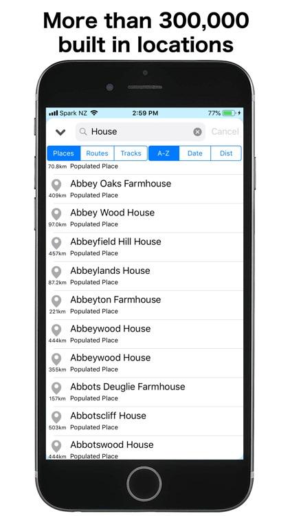 GBTopoMap screenshot-3