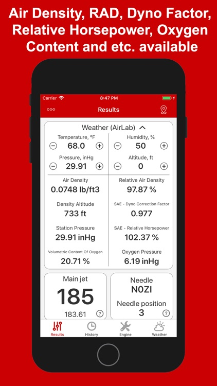Jetting for GasGas 2T Moto screenshot-4