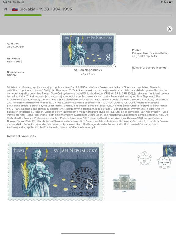 Screenshot #6 pour Philatelist tablet