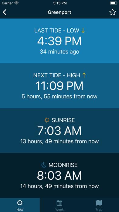 Tides Near Me - No Ads Screenshot