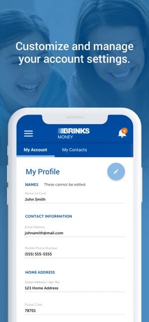 Brink's Prepaid on the App Store