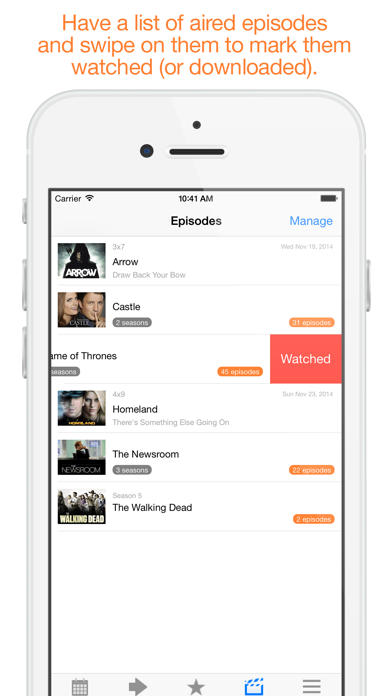 Next Episode - Track the TV Shows You Watch screenshot