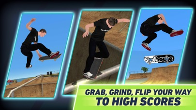 Screenshot from Tony Hawk's Skate Jam