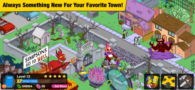 ‎The Simpsons™: Tapped Out Screenshot