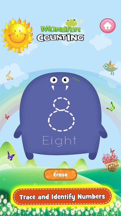 Monster Math Count Games Pro app image