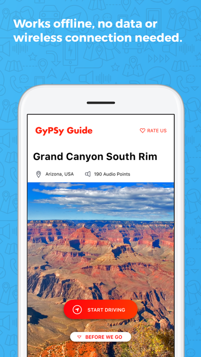 Grand Canyon South GyPSy Guide Screenshot