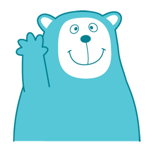 Sea Blue Bear