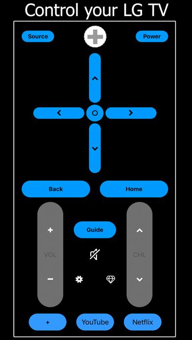 Remote TV for LG Smart screenshot 1
