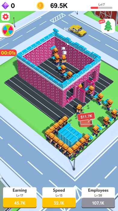 Idle Construction 3D screenshot 4