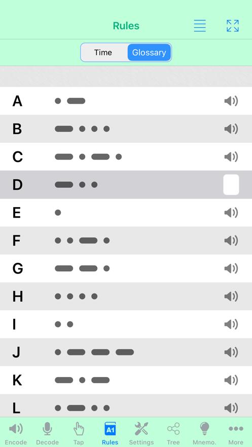 Morse-It App 截图