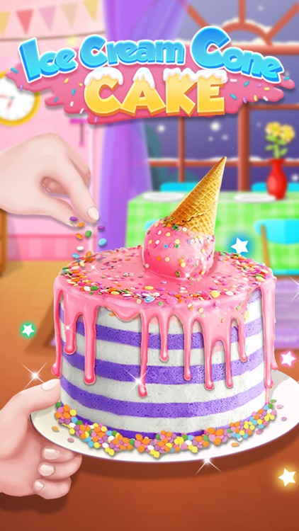 Ice Cream Cone Cake Maker screenshot-3