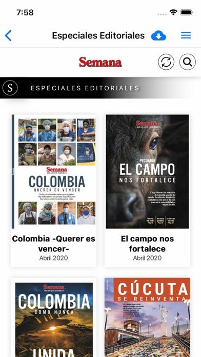 Revista Semana Screenshot