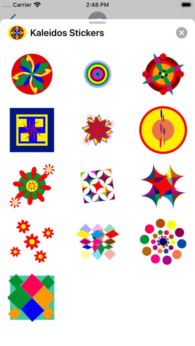 点击获取Kaleidos Stickers