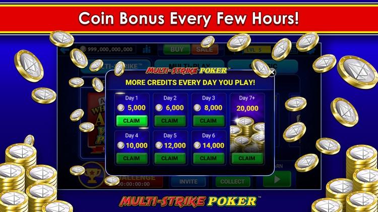 Multi-Strike Poker™ screenshot-9
