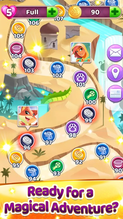 Genies & Gems: Puzzle & Quests screenshot-3