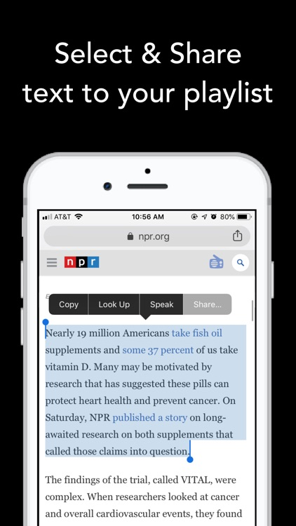 Text to Speech News - Motoread screenshot-4