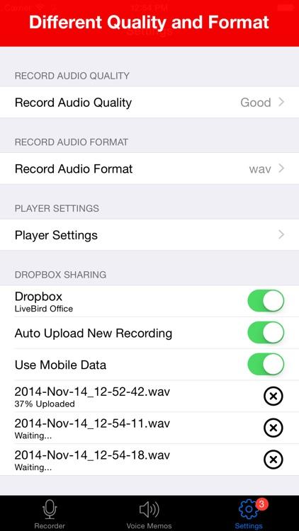 Voice Recorder - Audio Record screenshot-4