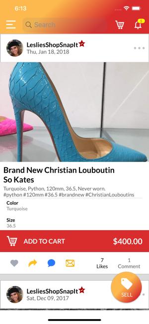 ShopSnapIt – Online Shopping Screenshot