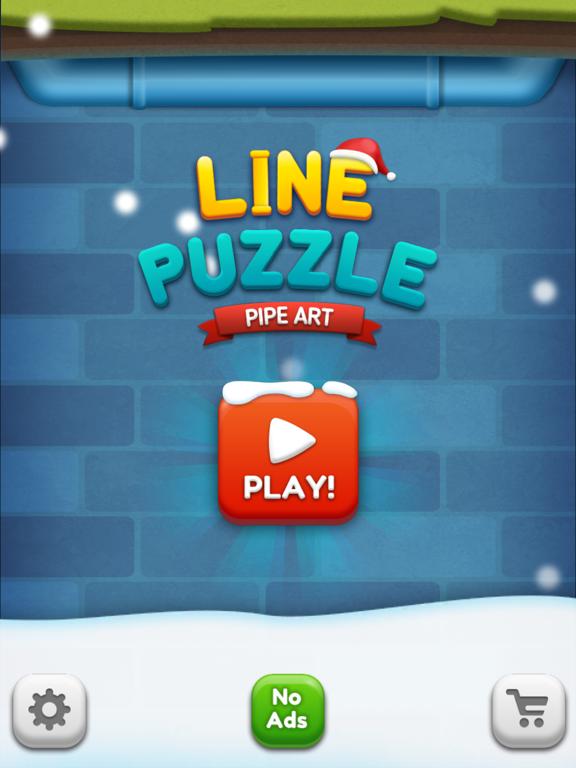 iPad Image of Line Puzzle: Pipe Art