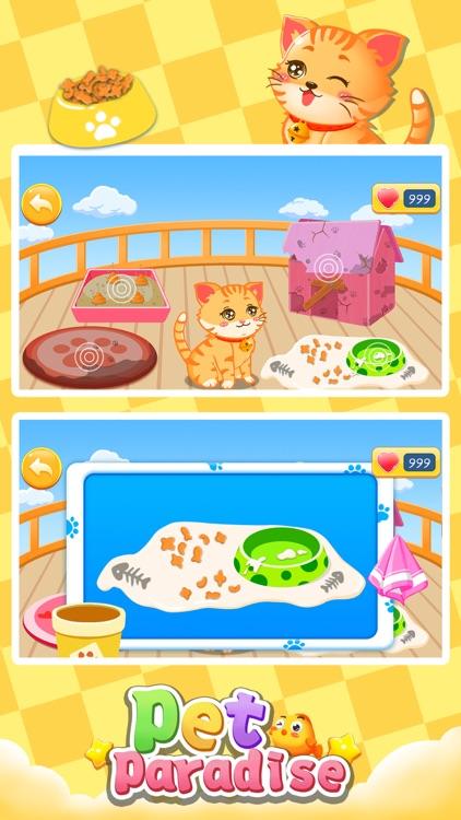 Bella's virtual pet paradise
