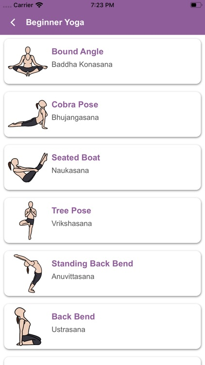 Daily Yoga Guidence