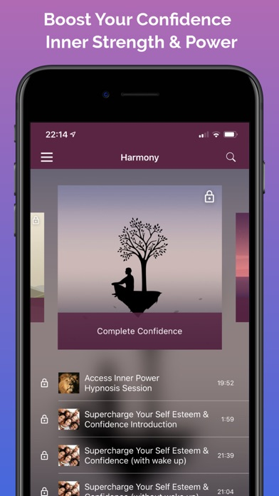 Harmony Hypnosis Meditation review screenshots