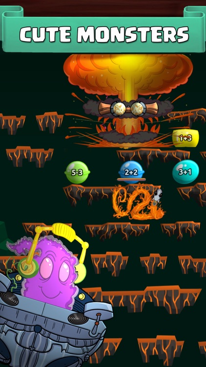 Monster Math - Games For Kids screenshot-8