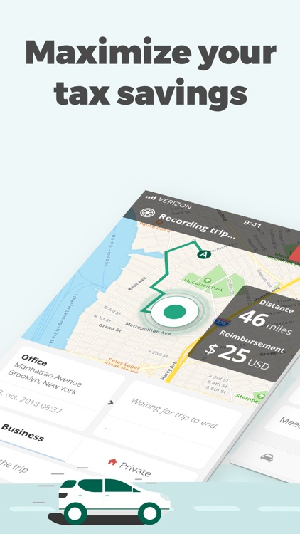 Mileage Tracker by Driversnote screenshot-0
