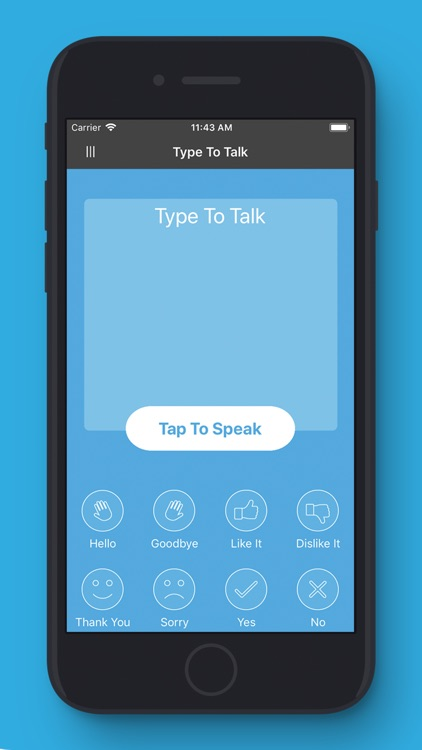 MyVoice - Tap or Type to Talk screenshot-0