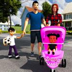 virtual mère: jeu de soins pou на пк