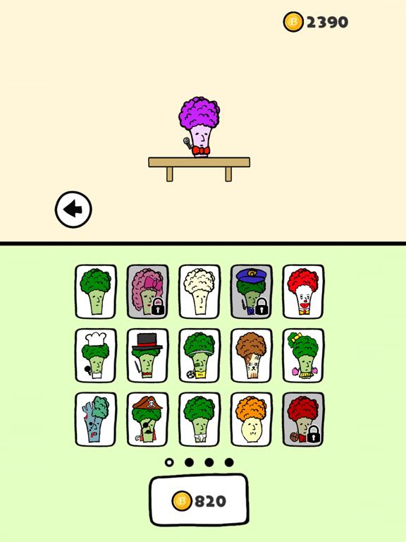 Broccoli Jump! screenshot 10