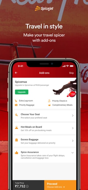SpiceJet – Book Cheap Flights on the App Store