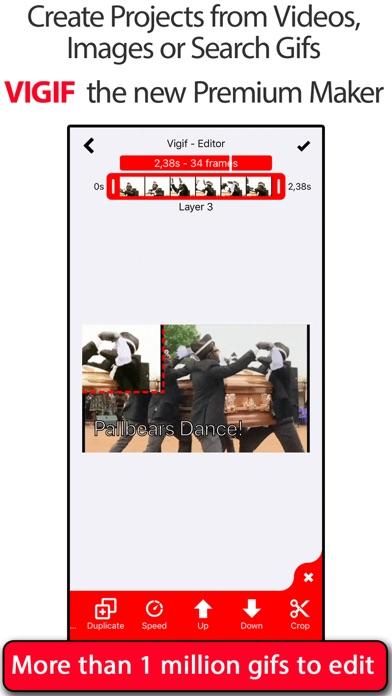 GIF Editor - Vigif screenshot 1