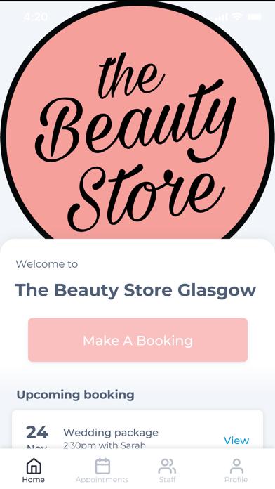 The Beauty Store Glasgow screenshot one