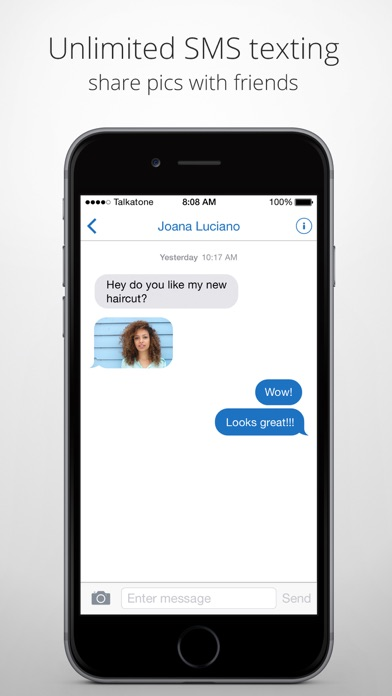 Talkatone: WiFi Text & Calls app image