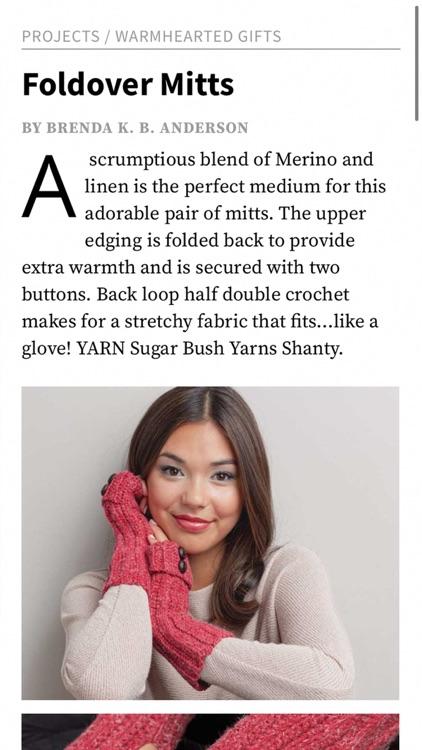 Interweave Crochet Magazine screenshot-4